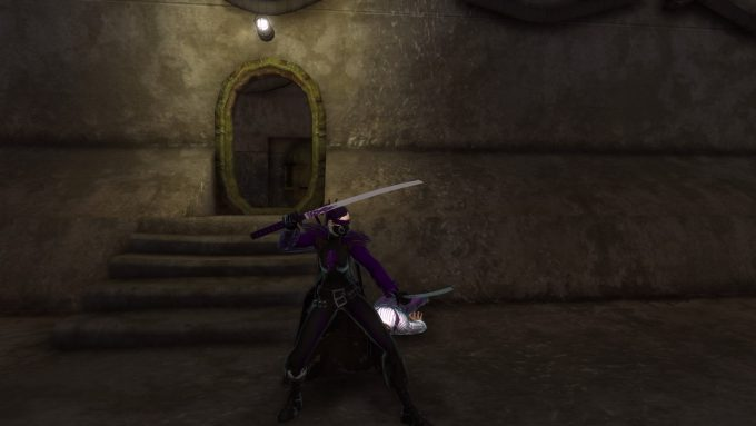 A player character in Champions Online