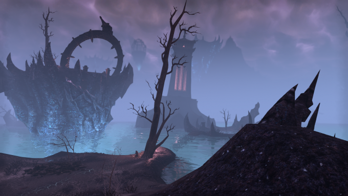 The grim realm of Coldharbour in Elder Scrolls Online