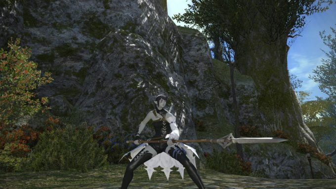 A character in Final Fantasy XIV: A Realm Reborn