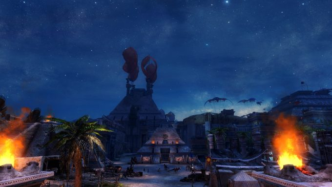 The town of Amnoon in Guild Wars 2: Path of Fire