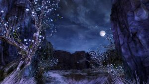 The new Crystal Oasis zone in Guild Wars 2: Path of Fire