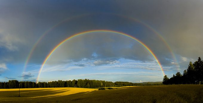 what does it mean double rainbow