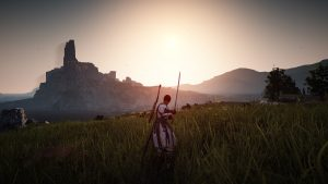 A shot from the sandbox MMORPG Black Desert