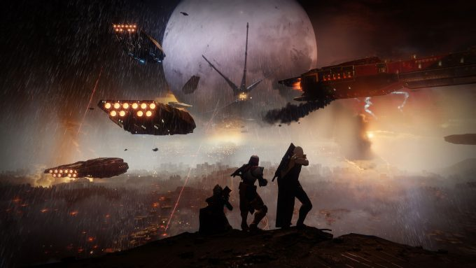 A promotional image for the MMO shooter Destiny 2