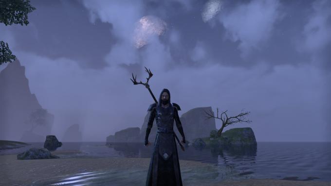 A nightblade character in Elder Scrolls Online
