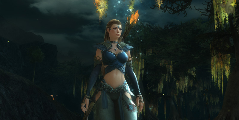 Female avatar in Guild Wars 2