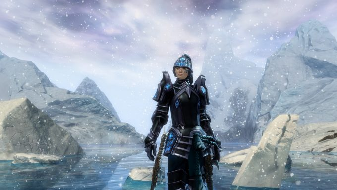 A thief character in Guild Wars 2