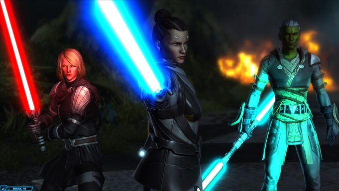 A story mission in Star Wars: The Old Republic's Knights of the Fallen Empire expansion