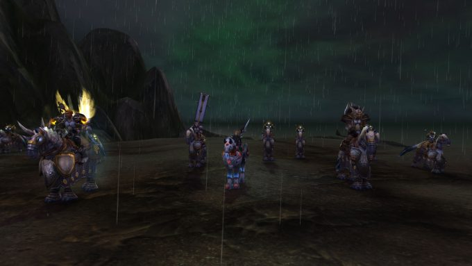 A paladin class story in World of Warcraft
