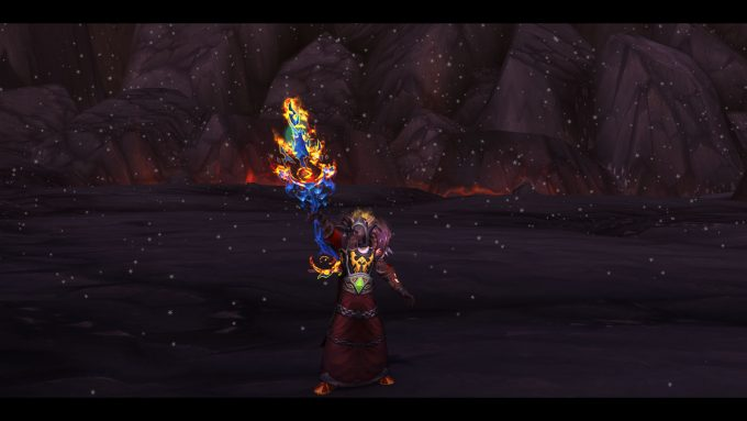 A solo player in World of Warcraft