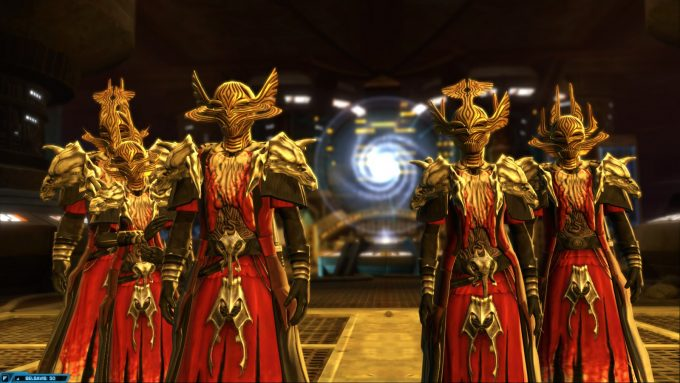 Ancient Sith lords in Star Wars: The Old Republic