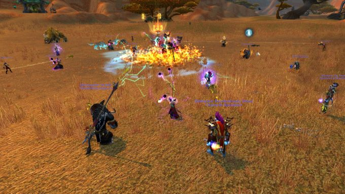 The Battlefield Barrens event in World of Warcraft
