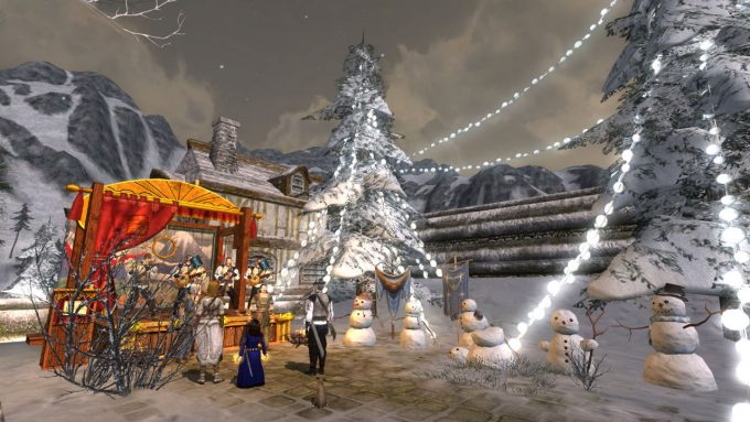 christmas in mmorpg lotro