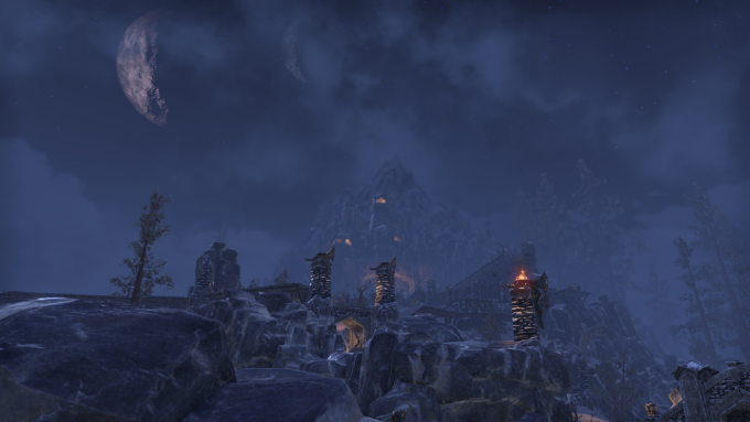 The Wrothgar zone in Elder Scrolls Online