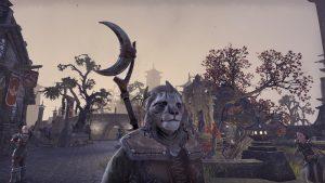 A Khajiit character in Elder Scrolls Online