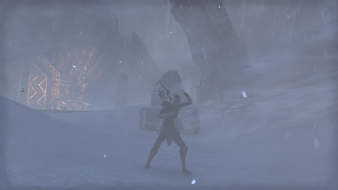 A shot from the MMORPG Elder Scrolls Online