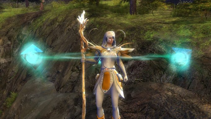 A mesmer character in Guild Wars 2