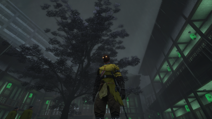 A character using the Wu deck outfit in the skilled-based MMORPG The Secret World