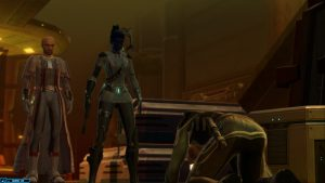Executing an enemy in Star Wars: The Old Republic