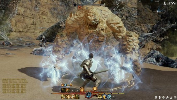 bless online old combat