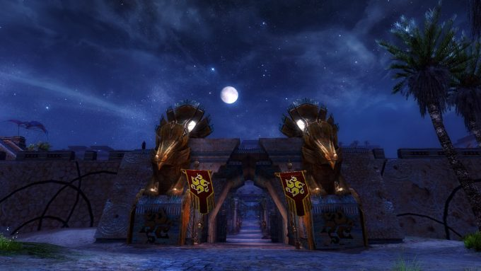 A screenshot from the Path of Fire expansion for Guild Wars 2