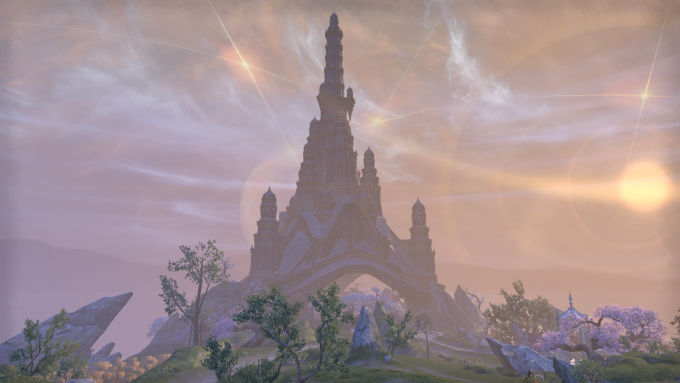 The island of Artaeum in Elder Scrolls Online's new Summerset expansion