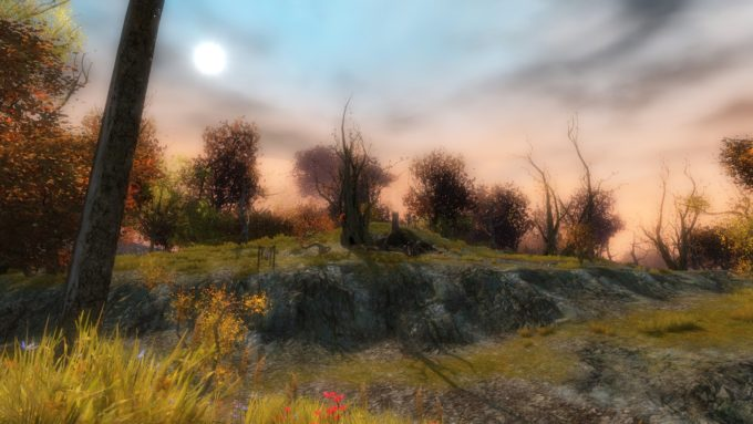 The Iron Marches zone in Guild Wars 2, a game blessedly free of player factions