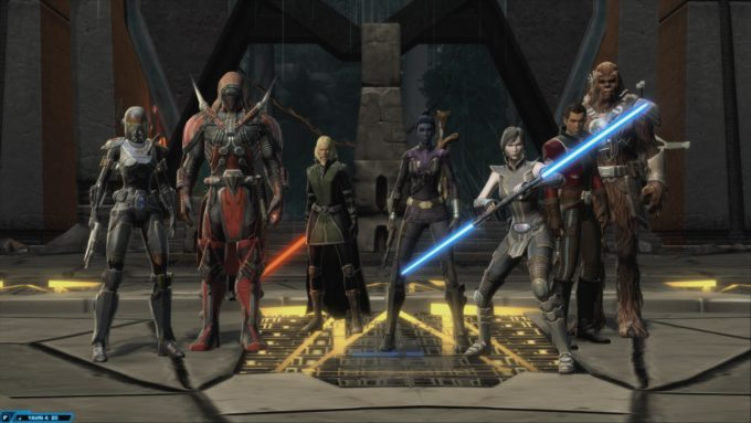 Even Star Wars: The Old Republic frequently unites the Dark and Light sides