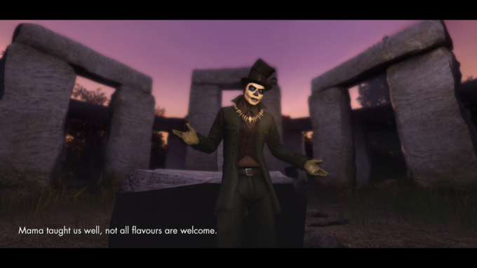 Baron Samedi, loa of death, in The Secret World, a game that is itself dead by some standards