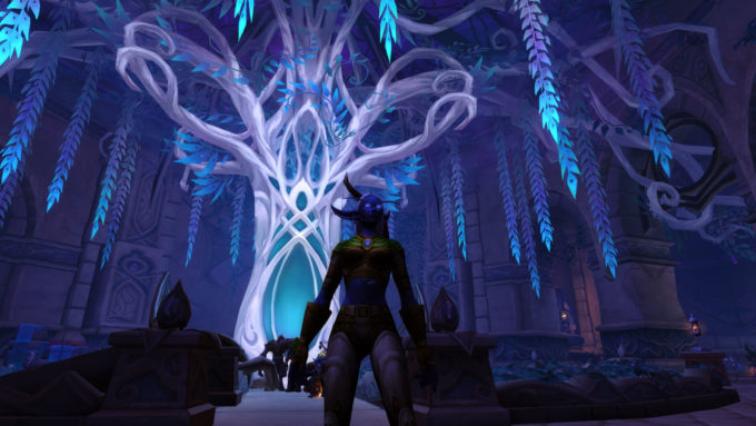 The introductory experience for the Nightborne Allied Race in World of Warcraft