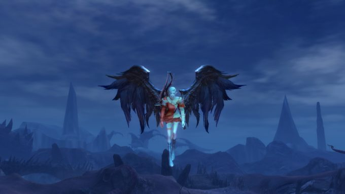 Playing an Asmodian ranger in Aion's Awakened Legacy patch