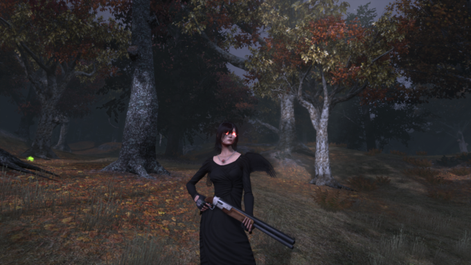My Templar's Halloween costume in The Secret World