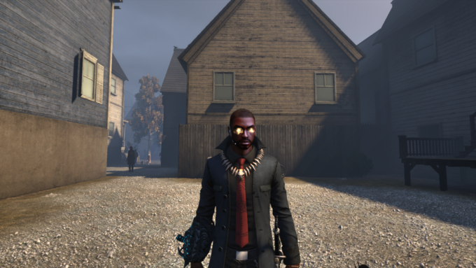 My character in The Secret World