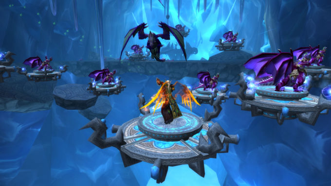 A screenshot from the Dragonwrath quest chain in World of Warcraft
